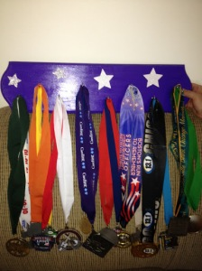 Medals and Bibs Holder