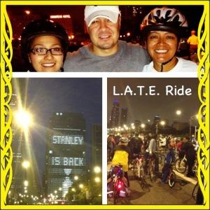 L.A.T.E. Ride